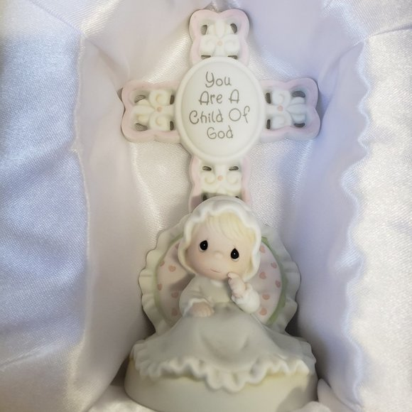 "Christening /Baptism Gift ""Precious Moments"" Girl."